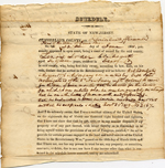 Zenos Loder - Re NJ Revolutionary War Pension Application
