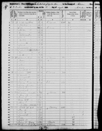1850-NC Census, SW Cape Fear, Bladen Co, NC