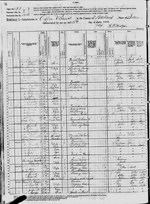 1880-IL Census, District 124, Coffee Precinct, Wabash Co, IL