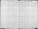 Walter Wade Couch & Orrie Ella Scaggs - 1883 Marriage Record