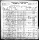 1900-IL Census, District 86, Friendsville Precinct, Wabash Co, IL