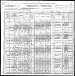 1900-PA Census, District 95, Paradise Township, Lancaster Co, PA