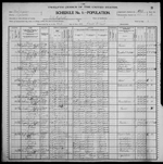 1900-WV Census, Elk District, Kanawha Co, WV