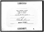 1919-LA Probate of Property Owned by Charles Grenot 1854-1904