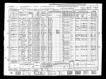 1940-OH Census, Bellaire, Pultney Township, Belmont co, OH