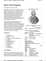 Henry III King of England (PDF Wiki)