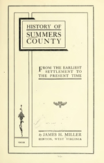 History of Summers County