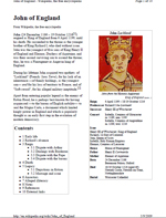 John 'Lackland' King of England (PDF Wiki)