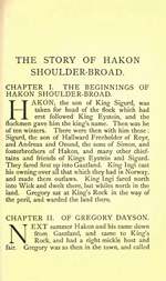Heimskringla - The Story of Haakon Shoulder Broad (1.8MB PDF)