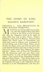 Heimskringla - The Story of Magnus Barefoot (2MB PDF)