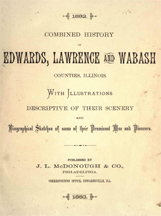 Combined History of Edwards, Lawrence & Wabash Counties, Illinois - 1883