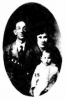 James L. Maclean & Nana Perry with daughter Marvel